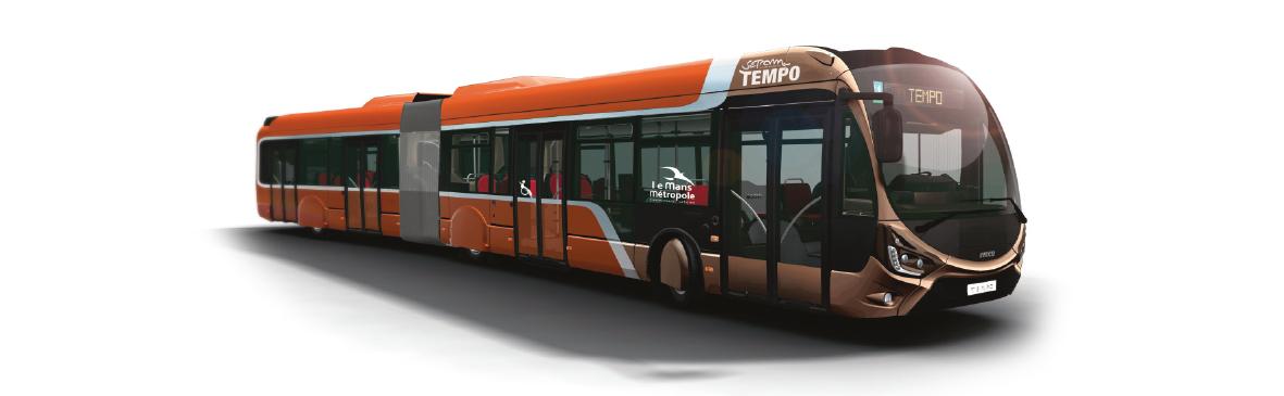 bus haut niveau de service tempo le mans. Black Bedroom Furniture Sets. Home Design Ideas
